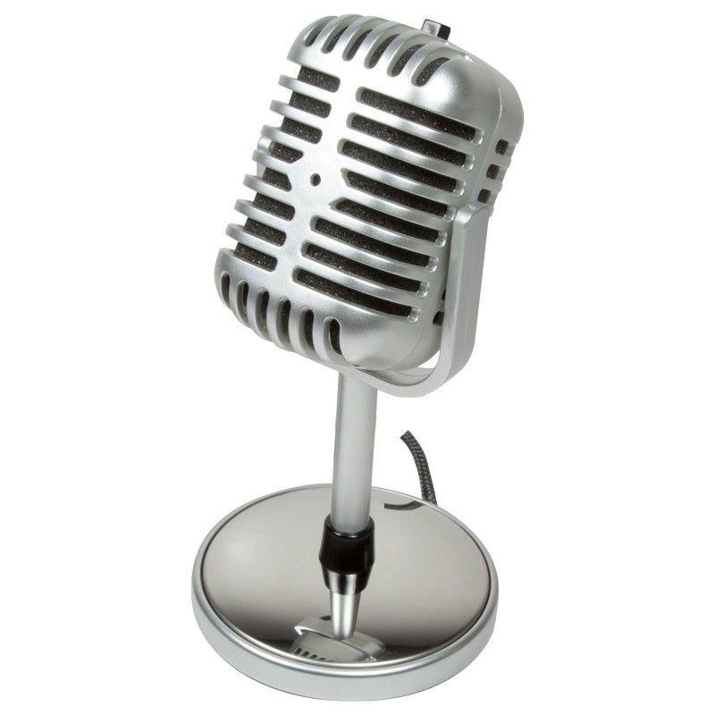 LogiLink -Mikrofon Retro Style
