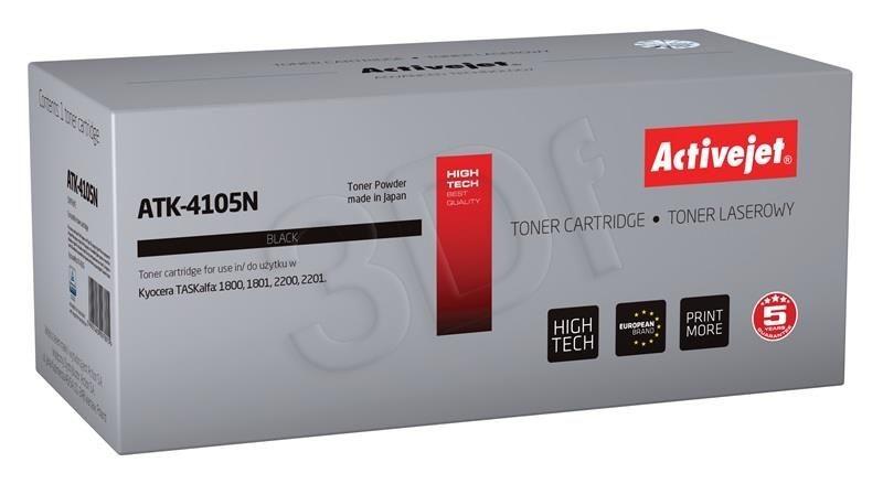 ActiveJet Toner ActiveJet ATK-4105N   Czarny   15000 pp   KYOCERA KM-4105