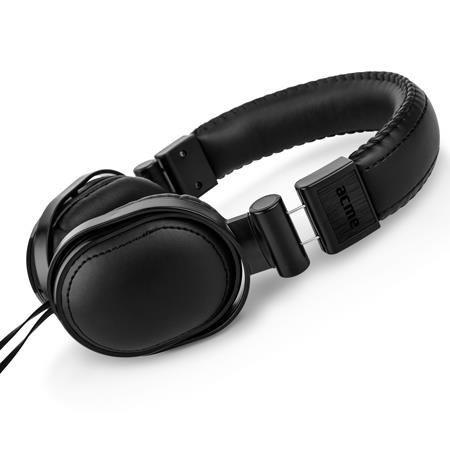 Acme Słuchawki nauszne z mikrofonem ACME HA09 True-sound czarne