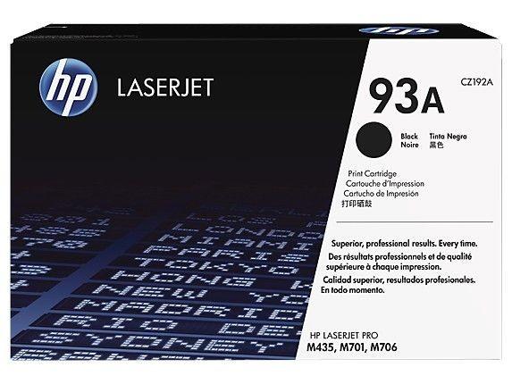 HP Toner 93A 12k Black CZ192A