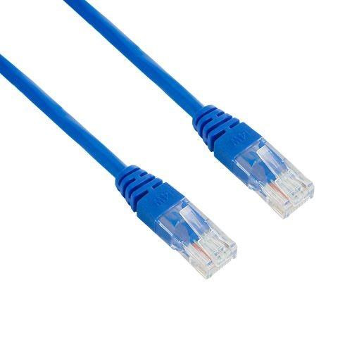 4World kabel krosowy RJ45 (osłonka zalewana, kat. 5e UTP, 1.8m, niebieski)