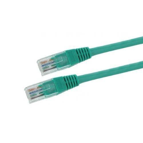 4World kabel krosowy RJ45 (osłonka zalewana, Cat. 5e UTP, 10m, zielony)