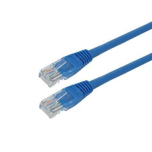 4World kabel krosowy RJ45 (osłonka zalewana, kat. 5e UTP, 15m, niebieski)