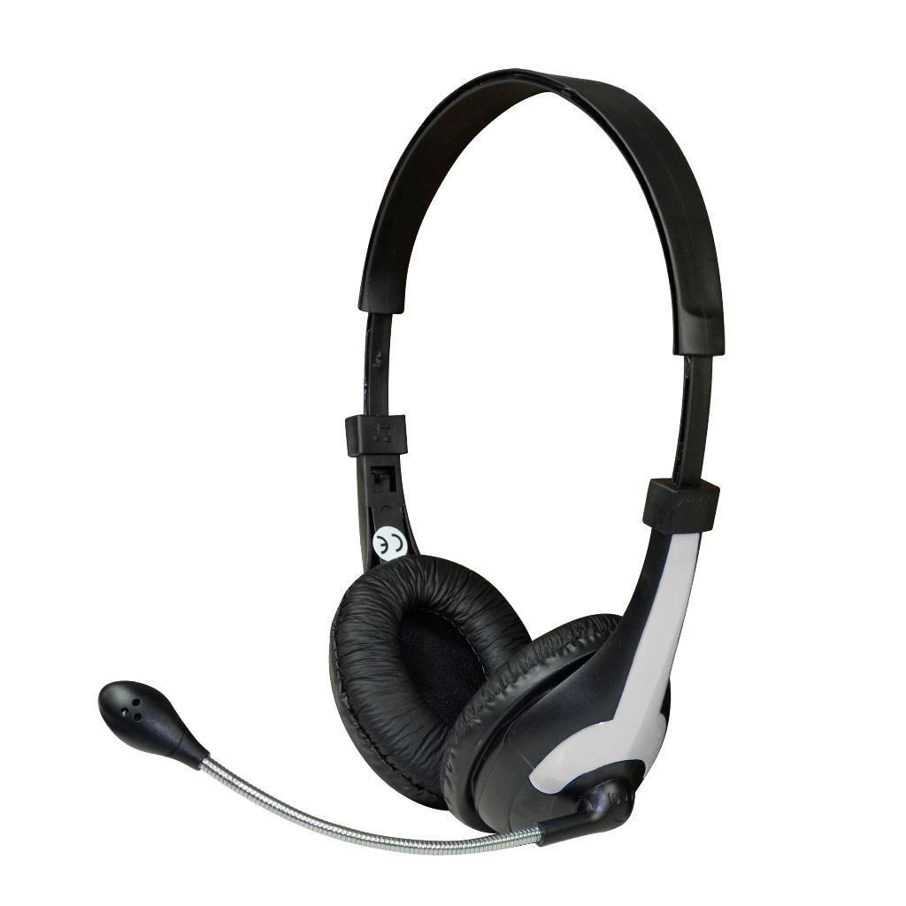 Vakoss MSONIC Słuchawki stereo z mikrofonem,regulacja głośności MH538KE czarno-szare