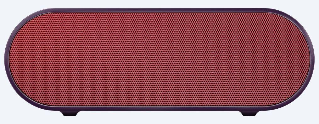 Sony Glosnik bezprzewodowy podrożny X2 czerwony