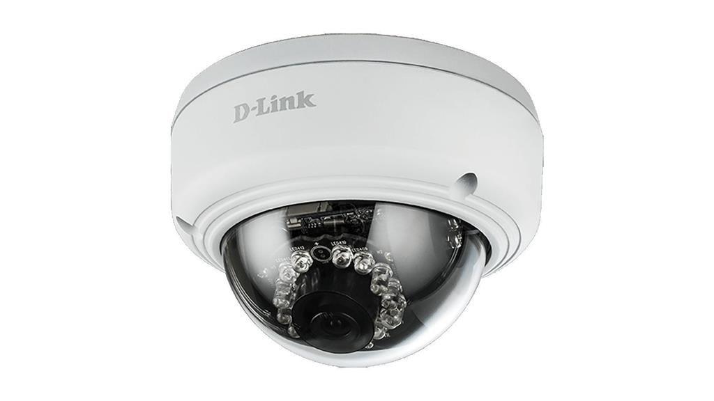 D-Link Vigilance Kamera 2 Mpx Outdoor, PoE, IP66, IK10, IR 20m, 3DNR, WDR