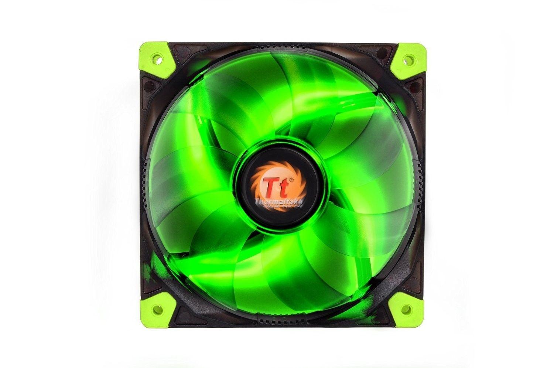 Thermaltake Wentylator - Luna 12 LED Green (120mm, 1200 RPM) BOX
