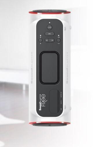 Creative Sound Blaster Free biały głośnik BT