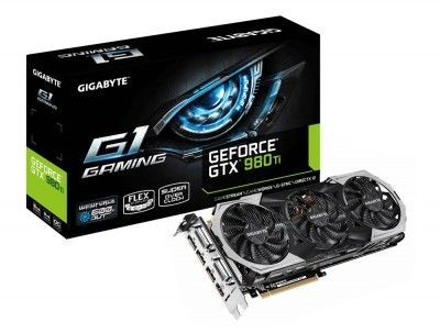 Gigabyte GeForce CUDA GTX980Ti 6GB DDR5 PCI-E 384BIT 2DVI/HDMI/3DP BOX