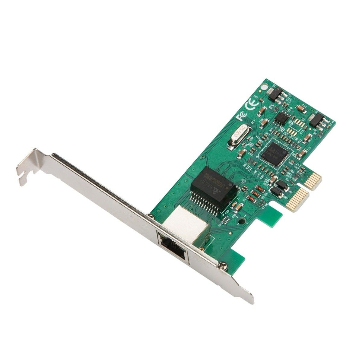 iTec i-tec PCI-E Gigabit Ethernet Card 1000/100/10MBps Regular and Low Profile