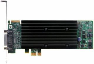 Matrox M9120 Plus DualHead 512MB (DDR2, 2xDVI, PCI-E, low profile)