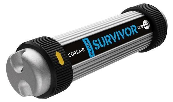 Corsair pamięć USB Survivor 128GB USB 3.0, wstrząso/wodoodporny