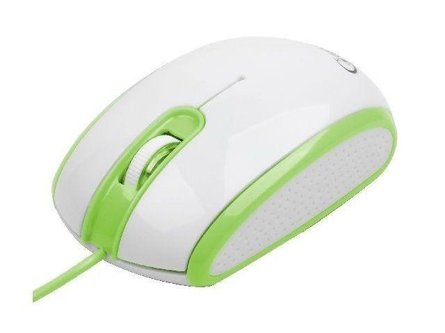 Gembird mysz optyczna USB, 1200 DPI, USB, biało-zilelona MUS-105-G