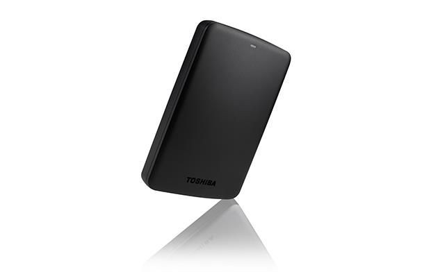 Toshiba Dysk zewnętrzny Canvio Basics HDTB320EK3CA ( HDD 2TB ; 2.5 ; USB 3.0 ; 5400 obr/min ; czarny srebrny )