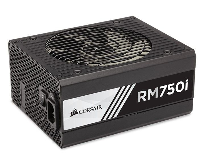 Corsair zasilacz RM750i, 750W, EU Version, Enthusiast Gold Series