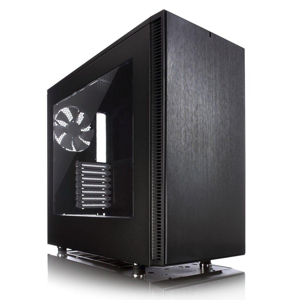 Fractal Design Define S Black Window 3.5'HDD/2.5'SDD uATX/ATX/mini ITX