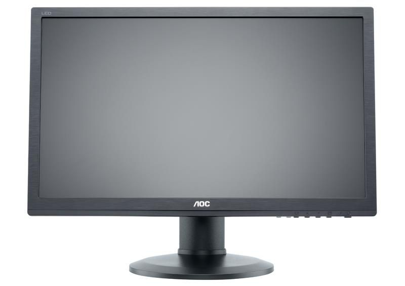 AOC Monitor AOC E2260PQ/BK 22inch, 1680x1050, D-Sub/DVI/DP, głośniki