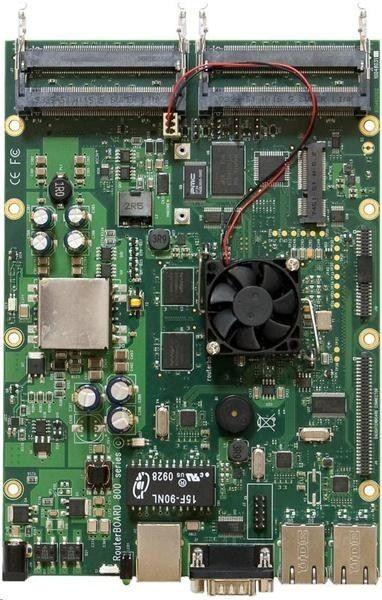 MikroTik Mikrotik RB800 RouterBoard L6 256 MB RAM, 3xGigabit Ethernet, 4xMiniPCI slots