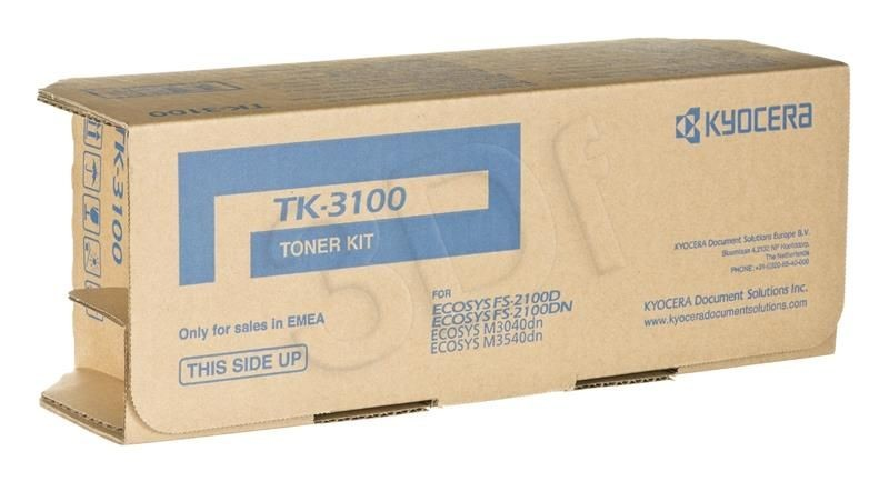 Kyocera Toner TK-3100 | 12500 str | Black | FS-2100 M3040dn M3540dn