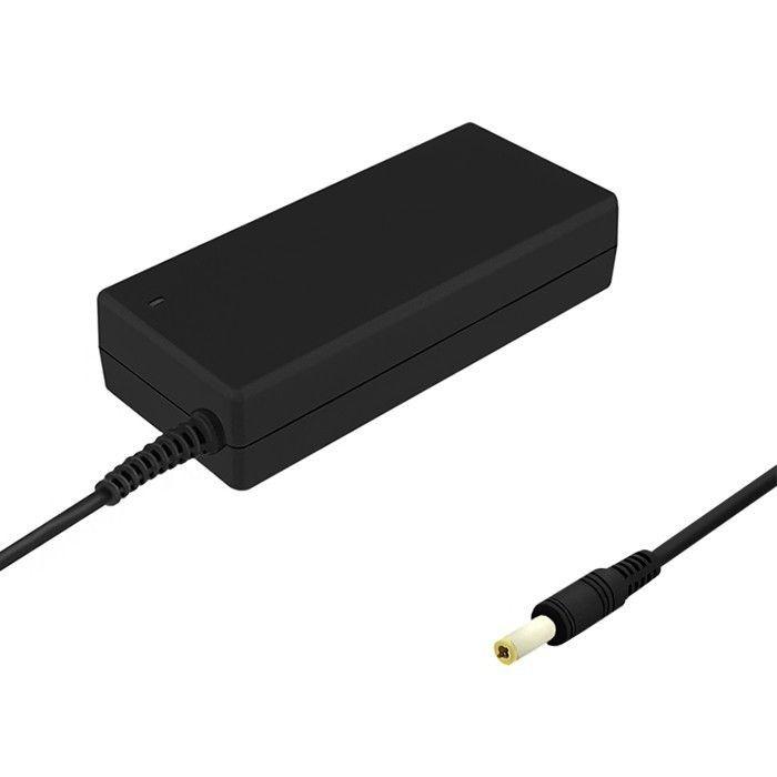 Qoltec Zasilacz do laptopa 90W | 19V | 4.74 A | 5.5x2.5 + kabel zasilający