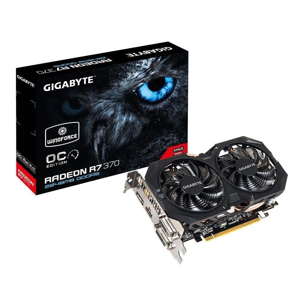 Gigabyte AMD Radeon R7 370 OC 2GB DDR5 PX 256bit 2xDVI/HDMI/DP