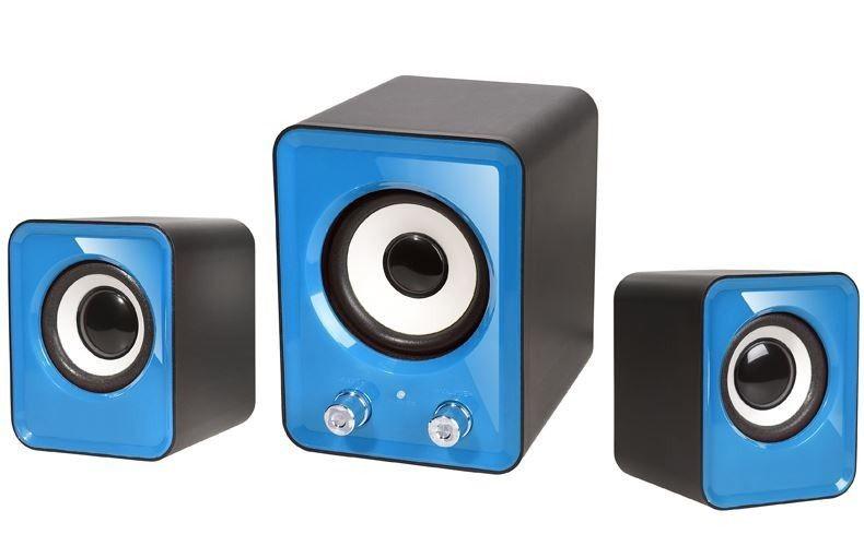 Tracer Głośniki 2.1 OMEGA Blue USB