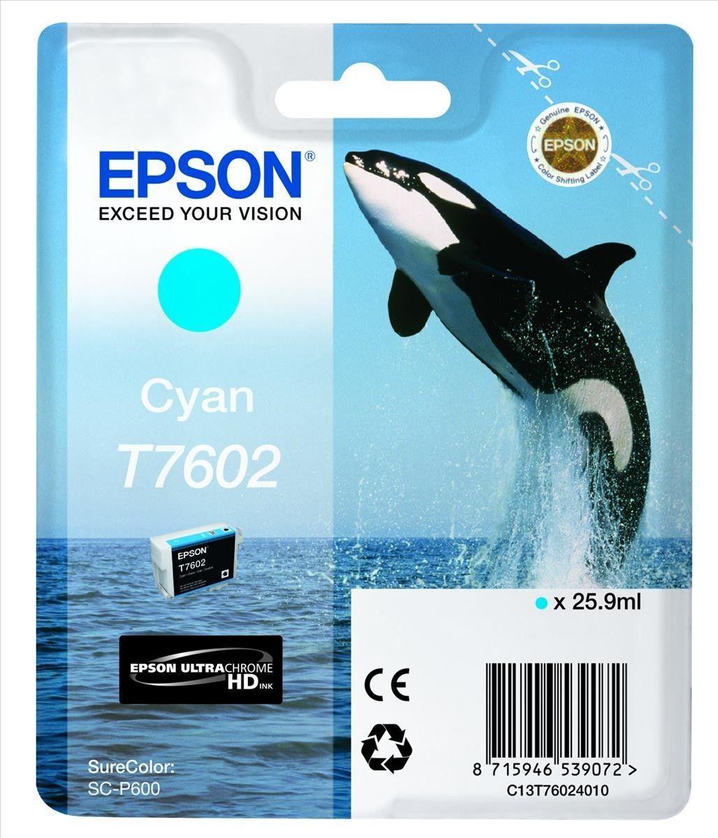 Epson Tusz Singlepack Cyan | SureColor SC-P600