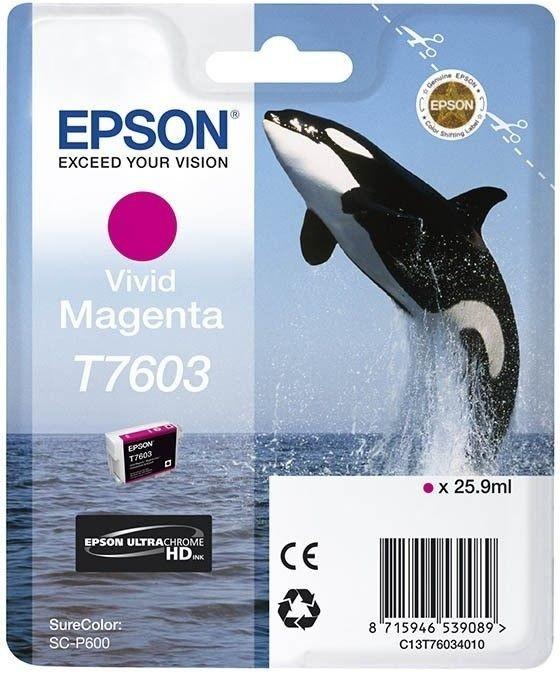 Epson Tusz Singlepack Vivid Magenta | SureColor SC-P600