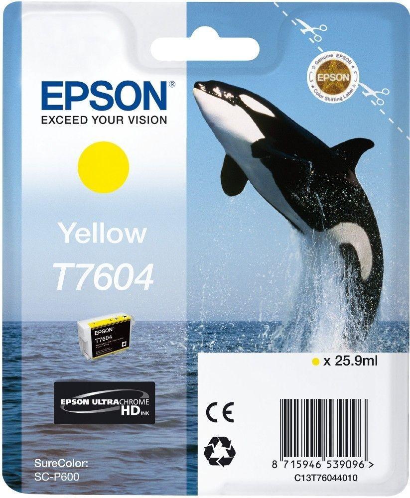 Epson Tusz Singlepack Yellow | SureColor SC-P600