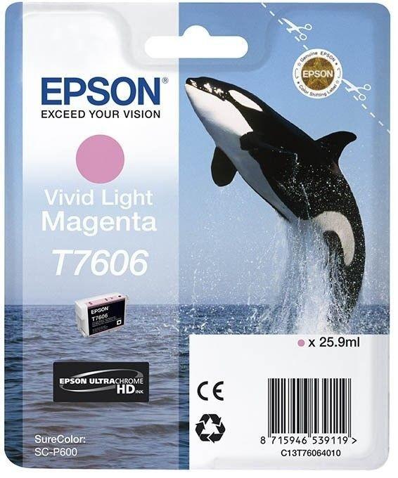 Epson Tusz Singlepack Vivid Light Magenta | SureColor SC-P600