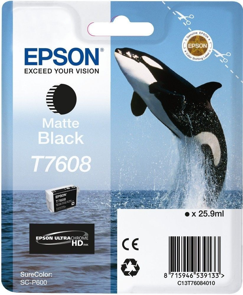 Epson Tusz Singlepack Matte Black | SureColor SC-P600