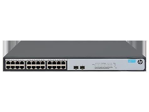 HP switch 1000T 24P V1420-24G-2SFP+JH018A 19 2xSFP+