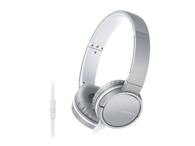 Sony Słuchawki z mikrofonem Sony MDR-ZX660AP białe