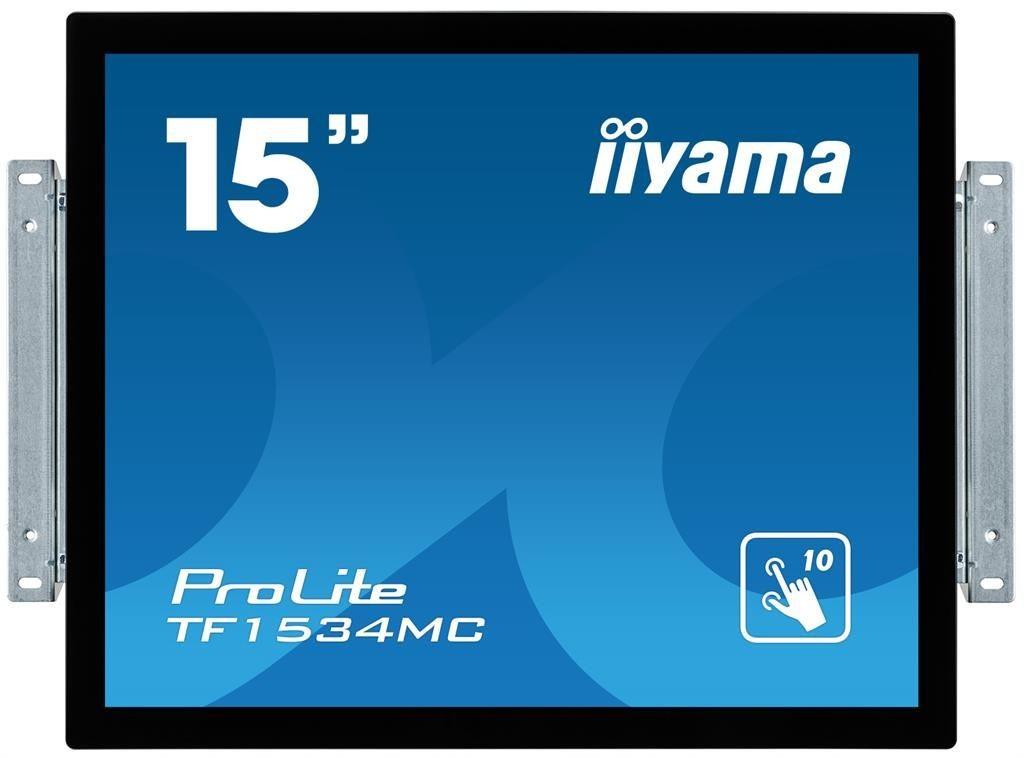 iiyama Monitor IIyama TF1534MC-B1X 15inch, TN touchscreen, 1024x768, VGA, DVI-D, USB
