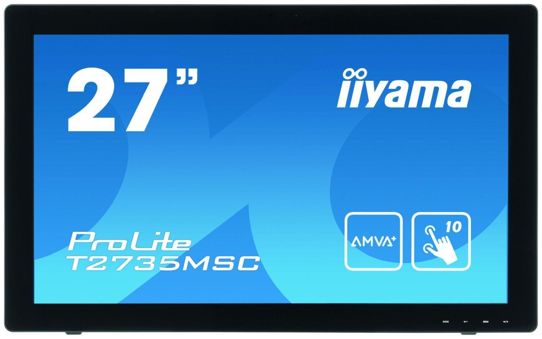 iiyama Monitor IIyama T2735MSC-B2 27inch, 5ms, VGA, DVI-D, HDMI