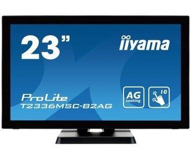 iiyama Monitor IIyama T2336MSC-B2 23inch, IPS touchscreen, Full HD, VGA, DVI-D, HDMI, U