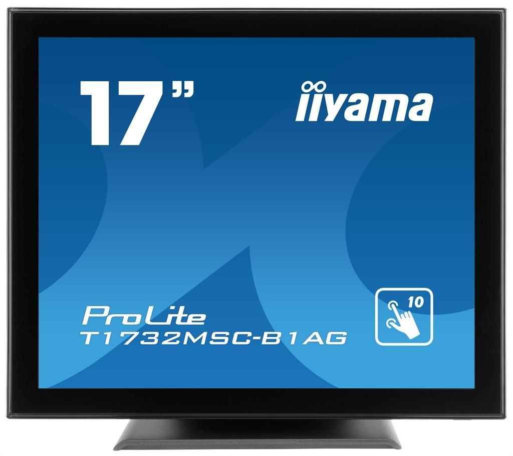 iiyama Monitor IIyama T1732MSC-B1AG 17inch, TN touchscreen, SXGA, VGA, DVI-D, USB