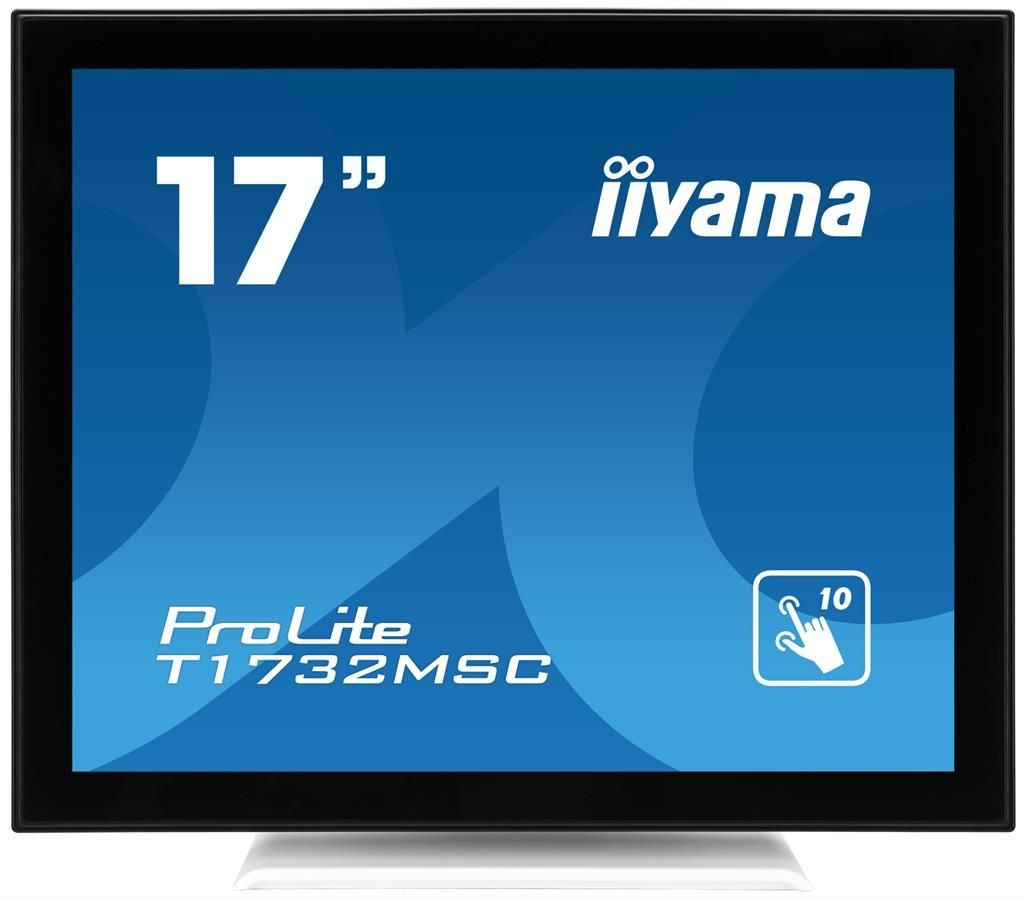 iiyama Monitor IIyama T1732MSC-W1X 17inch, TN touchscreen, SXGA, VGA, DVI-D, USB