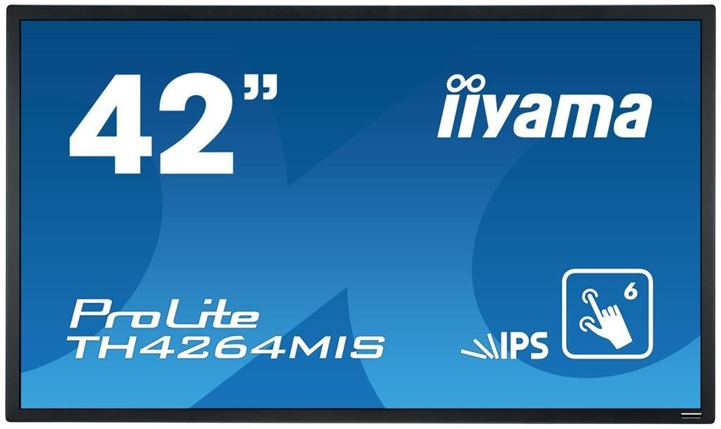 iiyama Monitor IIyama TH4264MIS-B1AG 42inch, IPS multitouch, Full HD, HDMI, DVI, DP, gł