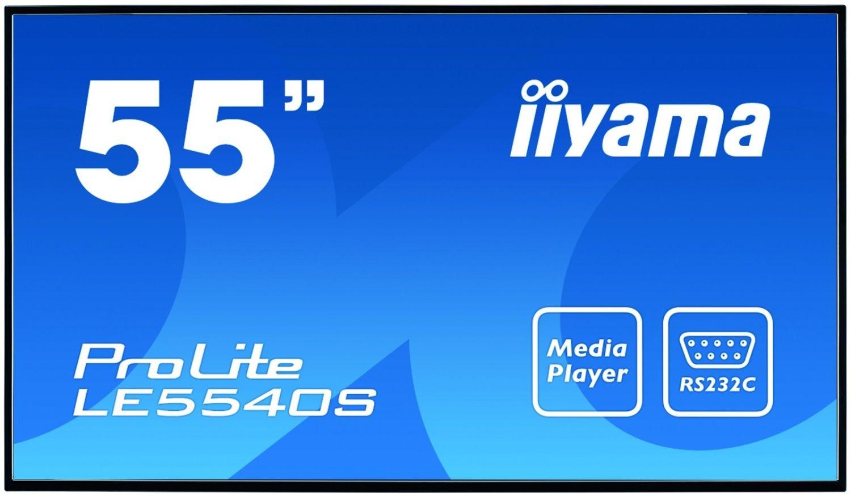 iiyama Monitor IIyama LE5540S-B1 55inch, panel IPS, D-SUB/DVI-D/HDMI
