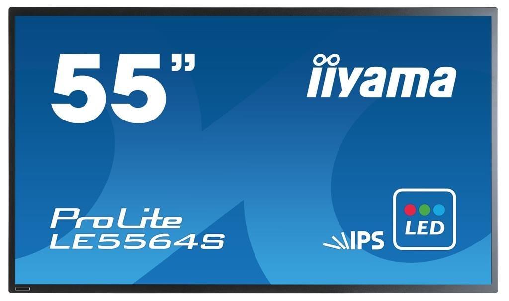 iiyama Monitor LE5564S-B1 55inch, IPS, Full HD, DVI, HDMI, DP, głośniki