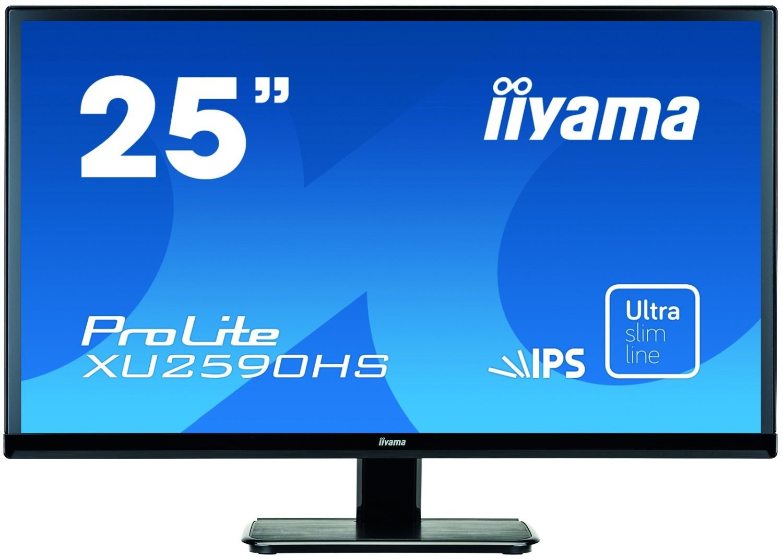 iiyama Monitor XU2590HS-B1 25inch, AH-IPS, Full HD, DVI, HDMI, głośniki