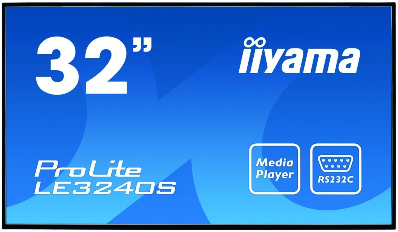 iiyama Monitor IIyama LE3240S-B1 32inch, panel IPS, D-Sub/DVI-D/HDMI