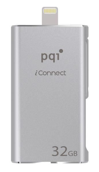 PQI iConnect 32GB silver