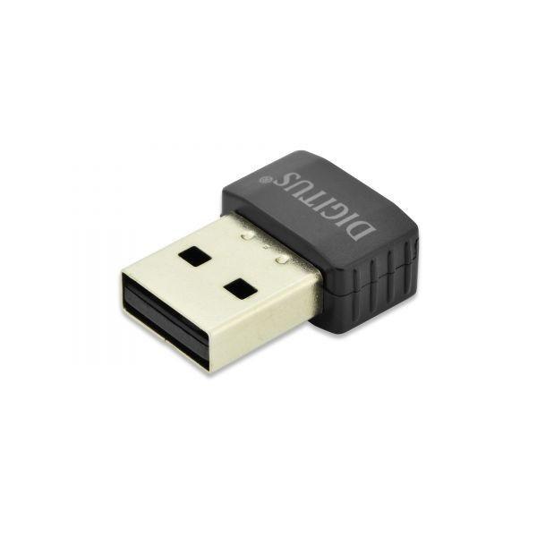 Digitus Mini karta sieciowa bezprzewodowa WiFi AC433 USB2.0