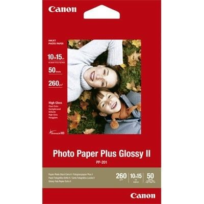 Canon PP201 Photo Glossy (260g, 10x15cm, 50ark)