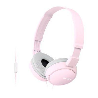 Sony SONY stereo sluchátka MDR-ZX110AP, růžová