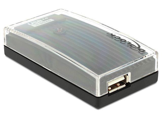 DeLOCK HUB 4-portowy zewnętrzny USB 2.0