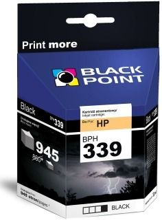 Black Point Tusz Black Point BPH339 | Black | 32 ml | 945 str. | HP C8767