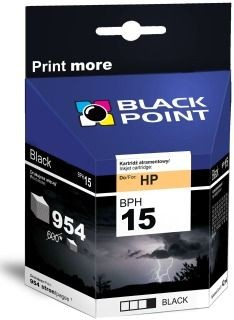 Black Point Tusz Black Point BPH15 | Black | 42 ml | 954 str. | HP C6615